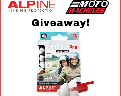 Alpine Hearing Protection Giveaway!