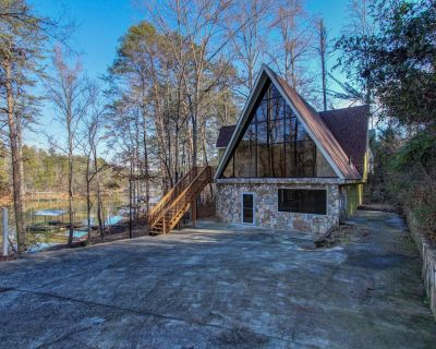 Lanier Laptime, Unconventional Lakefront Living, Dock, Kayaks, Kamado grill - Gainesville