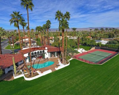 New 2 Acre Private Estate - Tennis Court, Pool/Spa, Orchards, Amazing Mtn Views - Indian Wells