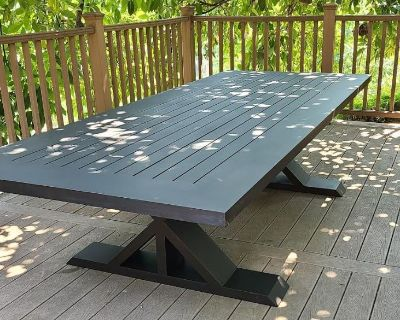 Custom made Aluminum tables