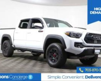 2019 Toyota Tacoma TRD Pro Double Cab 5' Bed V6 4WD Automatic