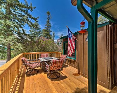 New! Cozy Outdoorsy Haven by Golf Course w/ Deck! - Cloudcroft