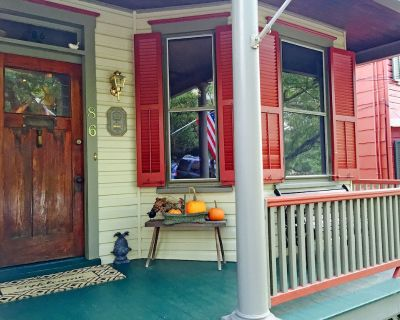 Over the years this delightful large Historic Downtown Annapolis Victorian home has been restored to its original grandeur. There is plenty of space to accommodate a family - Historic District