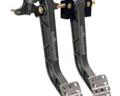 Wilwood 340-11295 Alum Dual Pedals Brake Clutch Assy Swiing Forward Mount 6.25:1