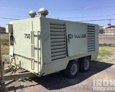 1994 Sullair 750H 750 cfm Mobile Air Compressor