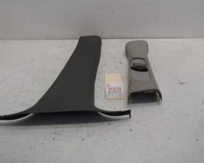 00 01 02 Lincoln Ls Right Passenger Center Pillar Seat Belt Interior Trim Cover