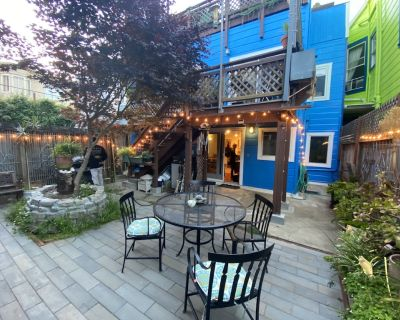 Colorful Mission District! Amazing Location! Comfortable Private Garden In-Law - Mission District