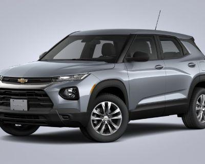 New 2021 Chevrolet Trailblazer LS Front Wheel Drive SUV
