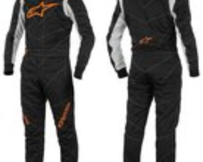 Alpinestars GP-Race Fire Suit (SFI 3.2A/5) Size 60 New with tags, Black/Gray/Org