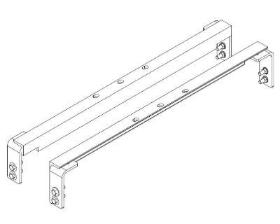 Curt 61102 Folding Ball Gooseneck Hitch Universal Installation Kit 20k Gtw