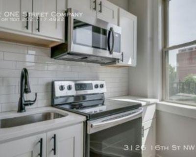 3126 16th St Nw #9, Washington, DC 20010 2 Bedroom Apartment