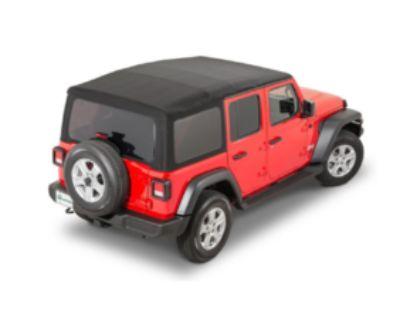 Georgia - Mopar Black Premium Twill 4 Door Soft Top