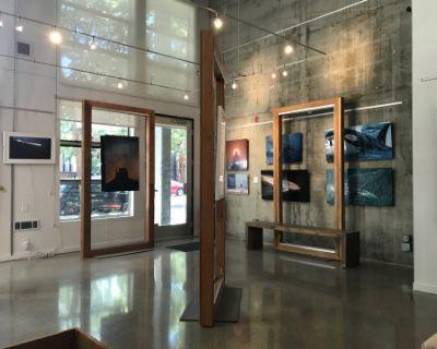 Modern Loft-Style Photography Gallery, Emeryville, CA