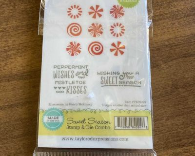 Taylored Expressions sweet season stamp and die set