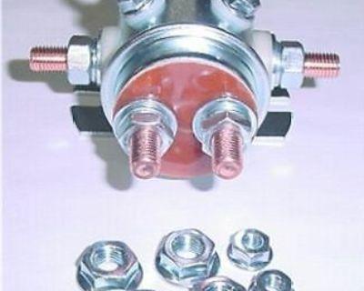 Winch Motor Industrial Marine Solenoid 24 Volt 6 Term.