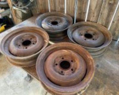 16x4.5 Ford steelies