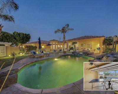 Sunny Villas: #217504 3 BR Pool, Spa, Ping Pong, Fire Pit!!! - Desert Club Estates