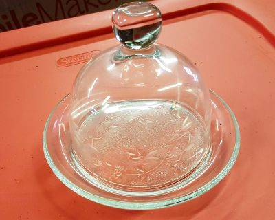 Princess House Covered Butter/Cheese Dish