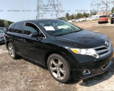 Salvage Black 2015 Toyota Venza