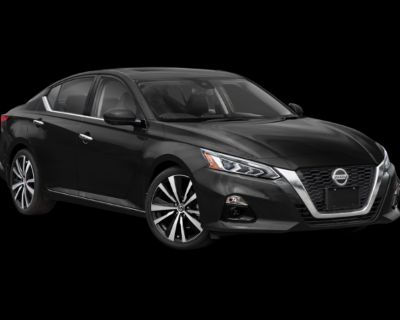 New 2021 Nissan Altima 2.5 Platinum AWD 4D Sedan