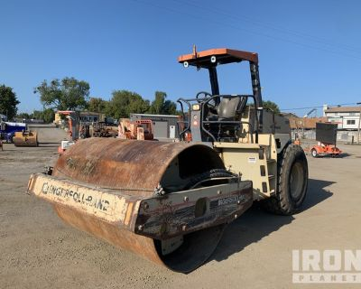 Ingersoll-Rand SD-100D Pro Pac Vibratory Single Drum Compactor