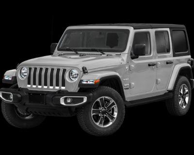 New 2021 Jeep Wrangler Unlimited Sahara 4WD