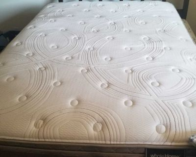 Free queen Whole Home Mattress and box spring