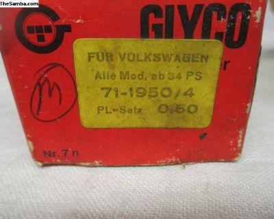 NOS Glyco .50mm Rod Bearing Set 40hp-53hp