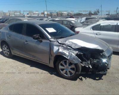 Salvage Silver 2015 Mazda Mazda3