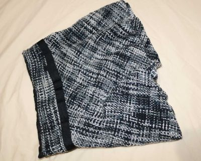 Gray Knit Skirt