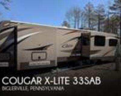 2016 Keystone Cougar X-LITE 33SAB