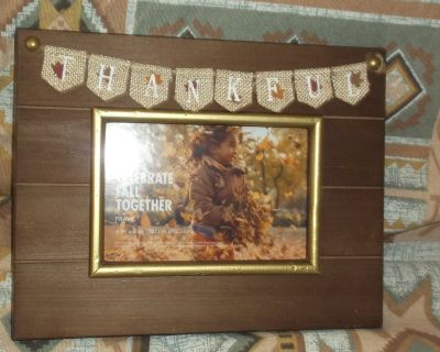 thankful picture frame 5 x7