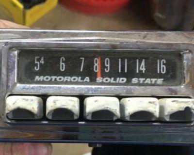 Motorola Solid State Am Radio