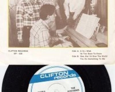 ECSTASIES ~ Mint-RARE EP w/45 !