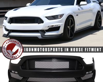 15-16 Ford Mustang GT350 Style Front Bumper Conversion | Lips | Trunk Spoilers