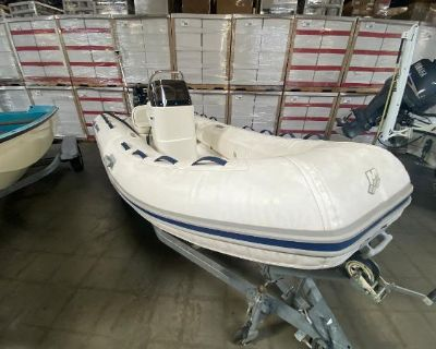 2011 Mercury Inflatables 430 Ocean Runner