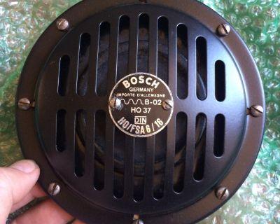 Restored Bosch Driver s Side Horn 356 C