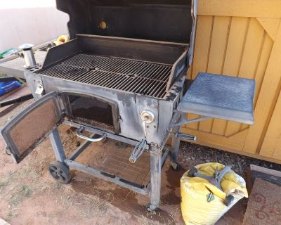 Old charcoal grill