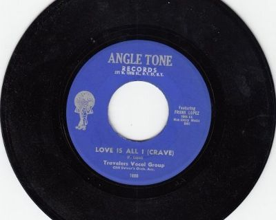TRAVELERS ~ Love Is All I Crave*Mint-45 !