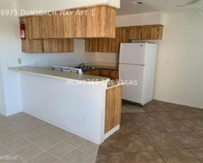 6975 Dunsbach Way Apt 1 #Apt 1, Las Vegas, NV 89156 2 Bedroom Apartment