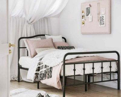 New Full Size Bed Frame (Still in Box) $110/firm priced to sell!