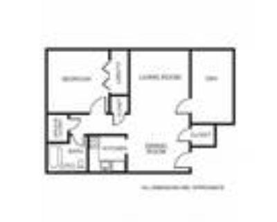 Apollo Apartments - 1A+Den Floor Plan