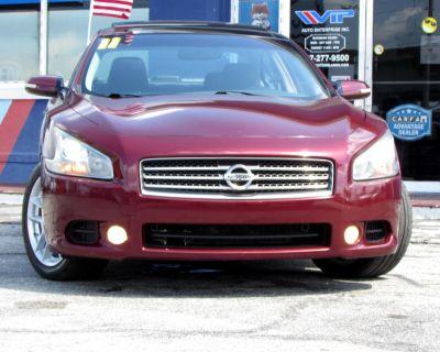2011 Nissan Maxima 4dr Sdn V6 CVT 3.5 SV w/Premium Pkg