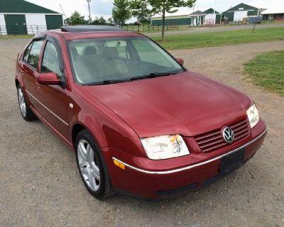 Red 2004 Volkswagen Jetta