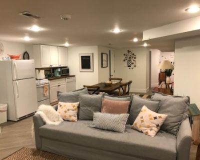 Cozy, well furnished, modern apartment with lots of space and extras!, washington, DC