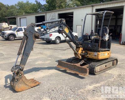 2011 John Deere 27D Mini Excavator