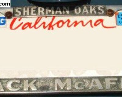 [WTB] Sherman Oaks McAfee dealer license plate frame