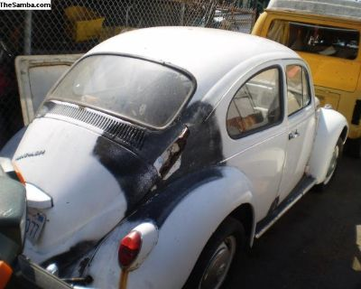 Parting out 1967 bug