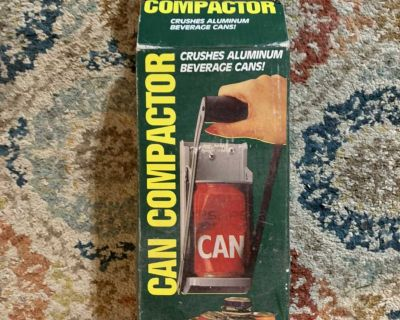 Wall Mount Can Crusher NEW in box.
