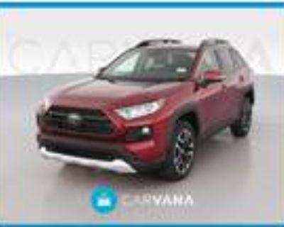 2021 Toyota RAV4 Red, 16K miles